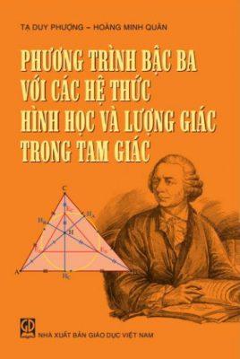 Phương trình bậc ba và các hệ thức hình học và lượng giác trong tam giác